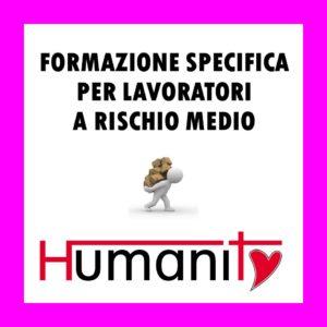 FSL-M - Formazione SPECIFICA per lavoratori a RISCHIO MEDIO – 1°/2 modulo - pomeriggio @ Centro  ANTONIANUM