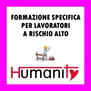 FSL-A - Formazione SPECIFICA per lavoratori a RISCHIO ALTO – 2°/3 modulo - pomeriggio @ Centro Giovanile ANTONIANUM