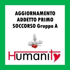 AG – ML – A -  AGGIORNAMENTO ADDETTO PRIMO SOCCORSO Gruppo A - 6 ORE