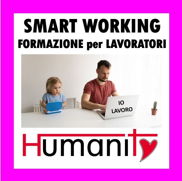 SMART WORKING – Formazione per Lavoratori